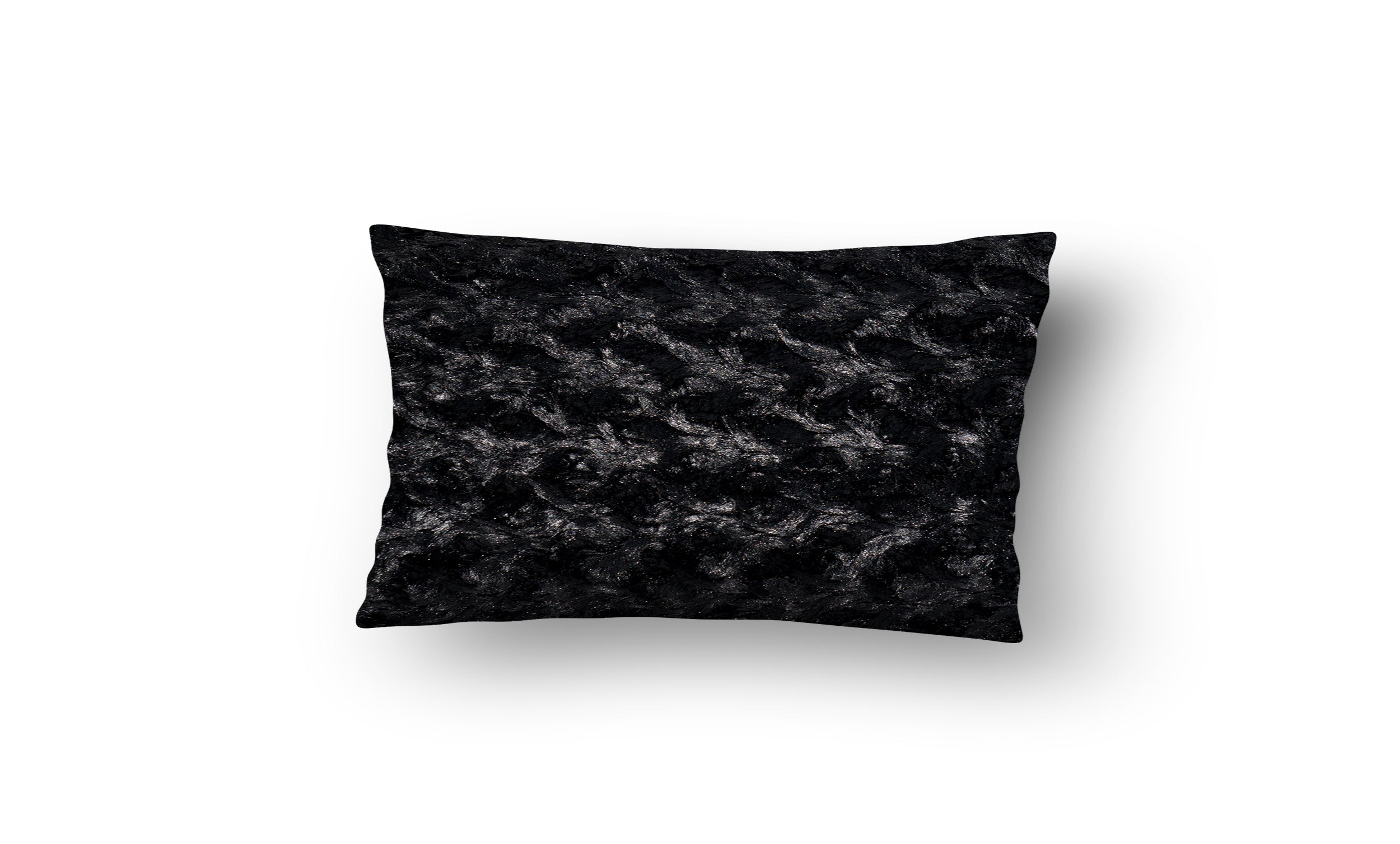 Swirled Faux Fur Pillow Cover