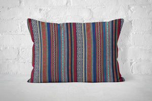 Tex Mex Striped Pillow Cover