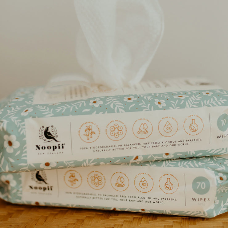 Noopii®  Natural Baby Wipes