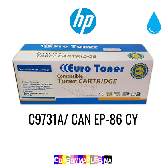 HP C9731A/ CAN EP-86 CY Cyan