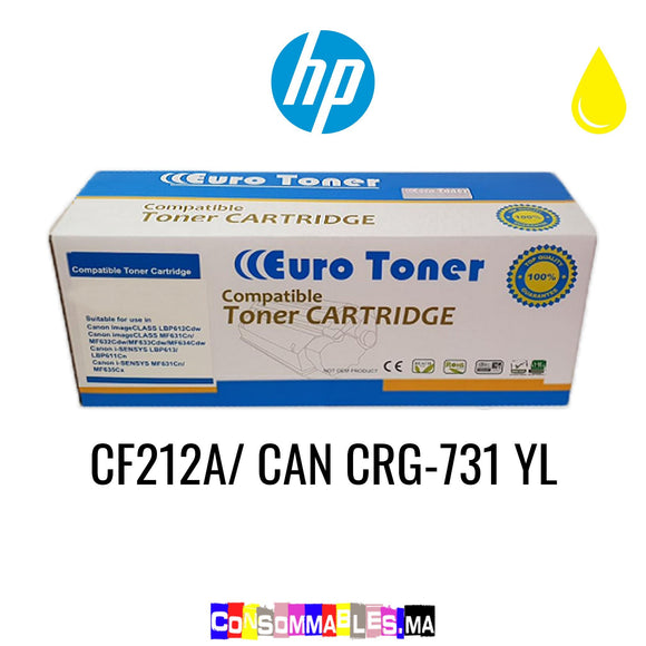 HP CF212A/ CAN CRG-731 YL Jaune