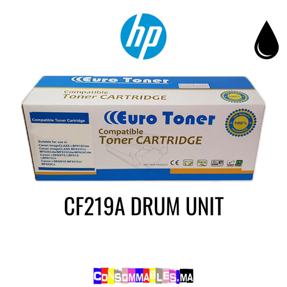 HP CF219A DRUM UNIT Noir