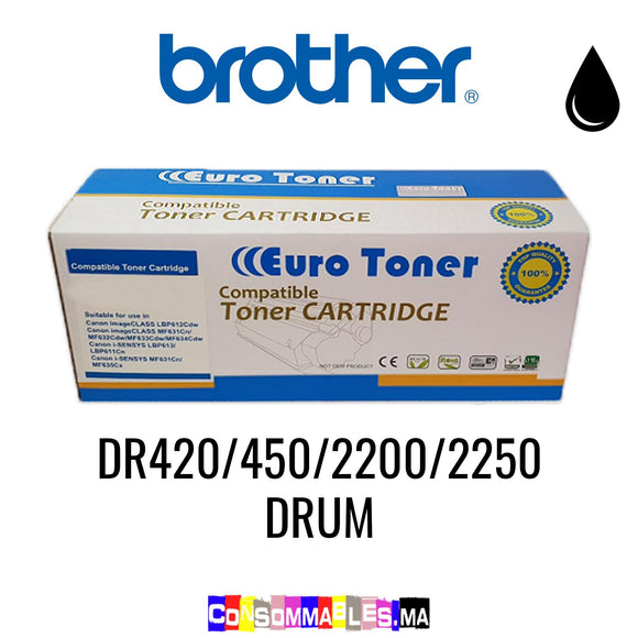 Brother DR420/450/2200/2250 DRUM Noir