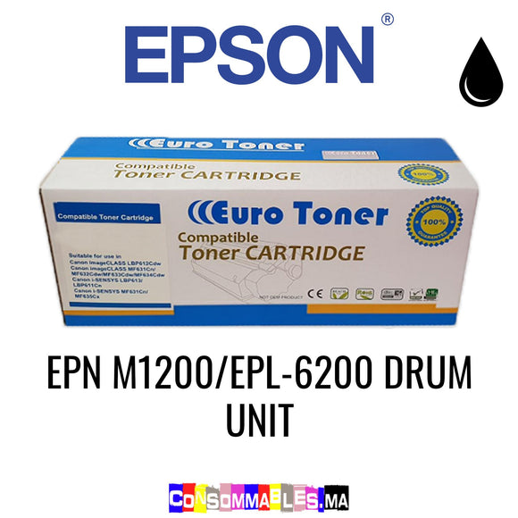 Epson EPN M1200/EPL-6200 DRUM UNIT Noir