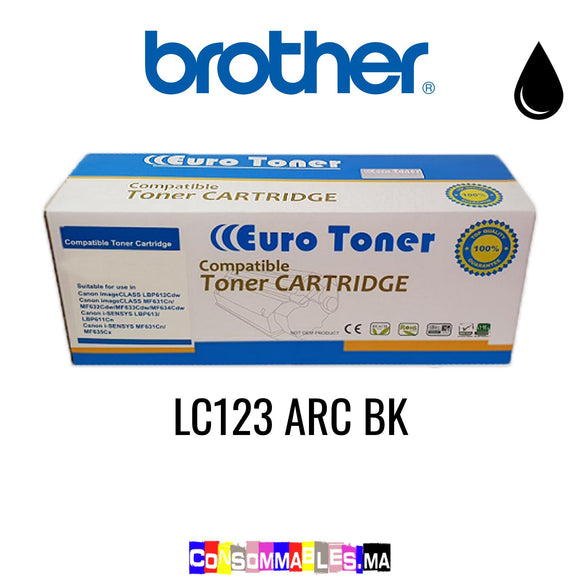 Brother LC123 ARC BK Noir