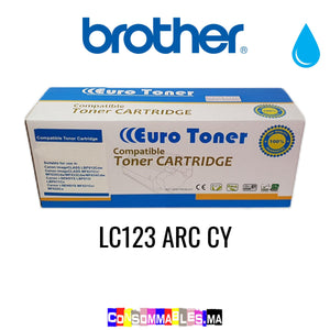 Brother LC123 ARC CY Cyan
