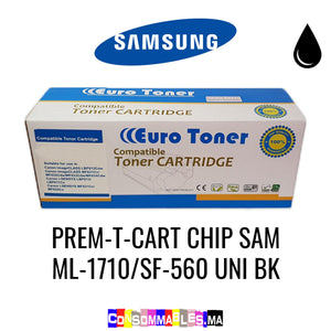 Samsung PREM-T-CART CHIP SAM ML-1710/SF-560 UNI BK Noir