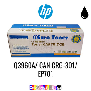 HP Q3960A/ CAN CRG-301/ EP701 Noir
