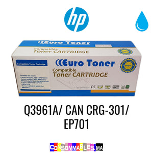 HP Q3961A/ CAN CRG-301/ EP701 Cyan