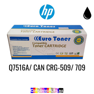 HP Q7516A/ CAN CRG-509/ 709 Noir