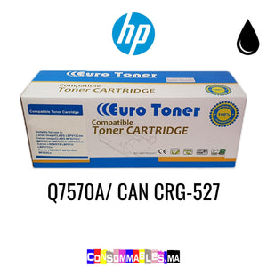 HP Q7570A/ CAN CRG-527 Noir
