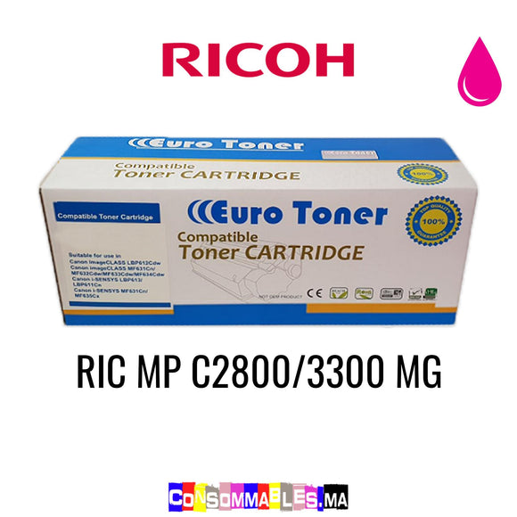 Ricoh RIC MP C2800/3300 MG Magenta