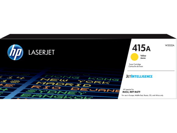TONER ORIGINAL HP 415A LASERJET YELLOW - Consommables