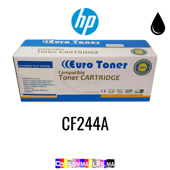 HP CF244A Noir - Consommables