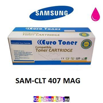 Toner Compatible Samsung CLT 407 MAGENTA - Consommables