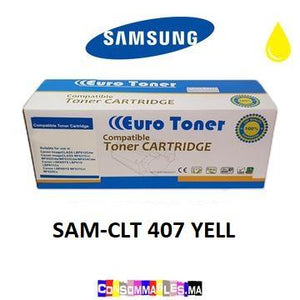 Toner Compatible Samsung CLT 407 YELLOW - Consommables