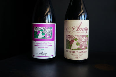 Amity Vineyards 1987 & 1994 Nouveau