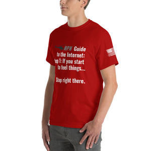 HPN Guide to the Internet Short Sleeve T-Shirt