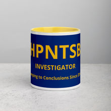 Load image into Gallery viewer, HPNTSB Investigator Mug with Color Inside