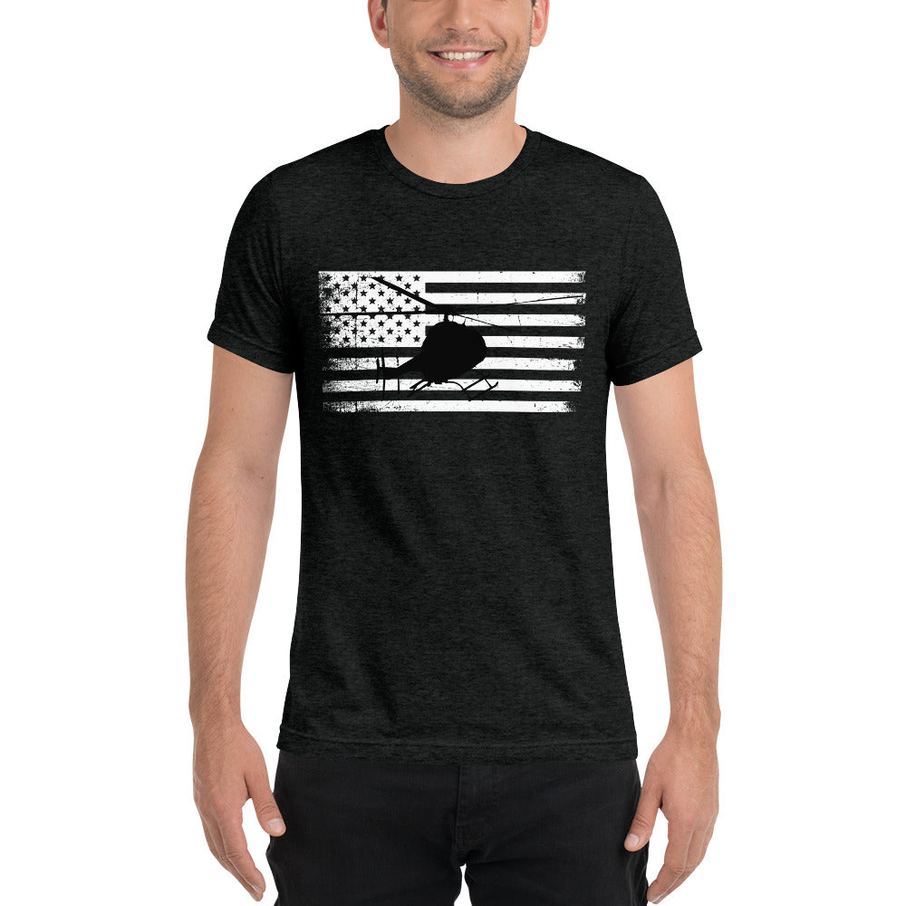 HPN 407 Flag Unisex Short sleeve t-shirt