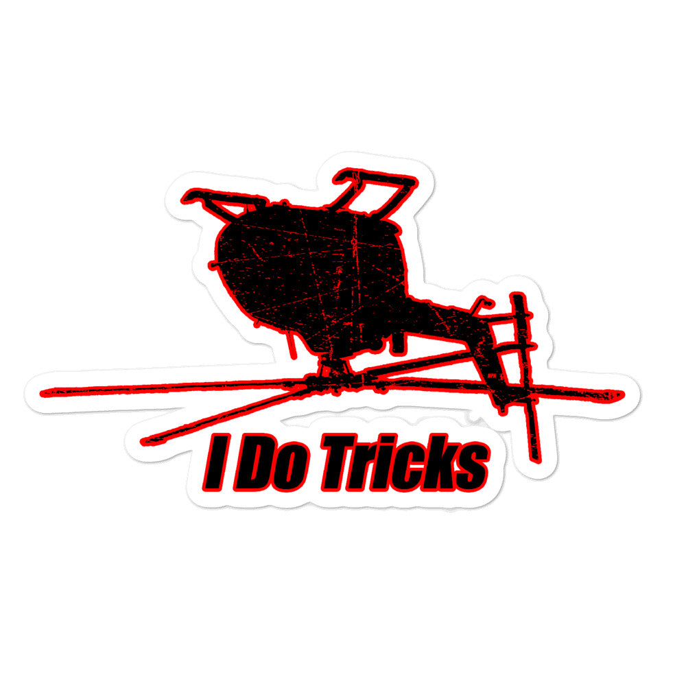 HPN - I Do Tricks BO-105 Sticker