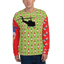 Load image into Gallery viewer, HPN Ugly Christmas Huey Pin Up Girl Unisex Sweatshirt