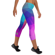 Load image into Gallery viewer, HPN Triangulate Capri Leggings
