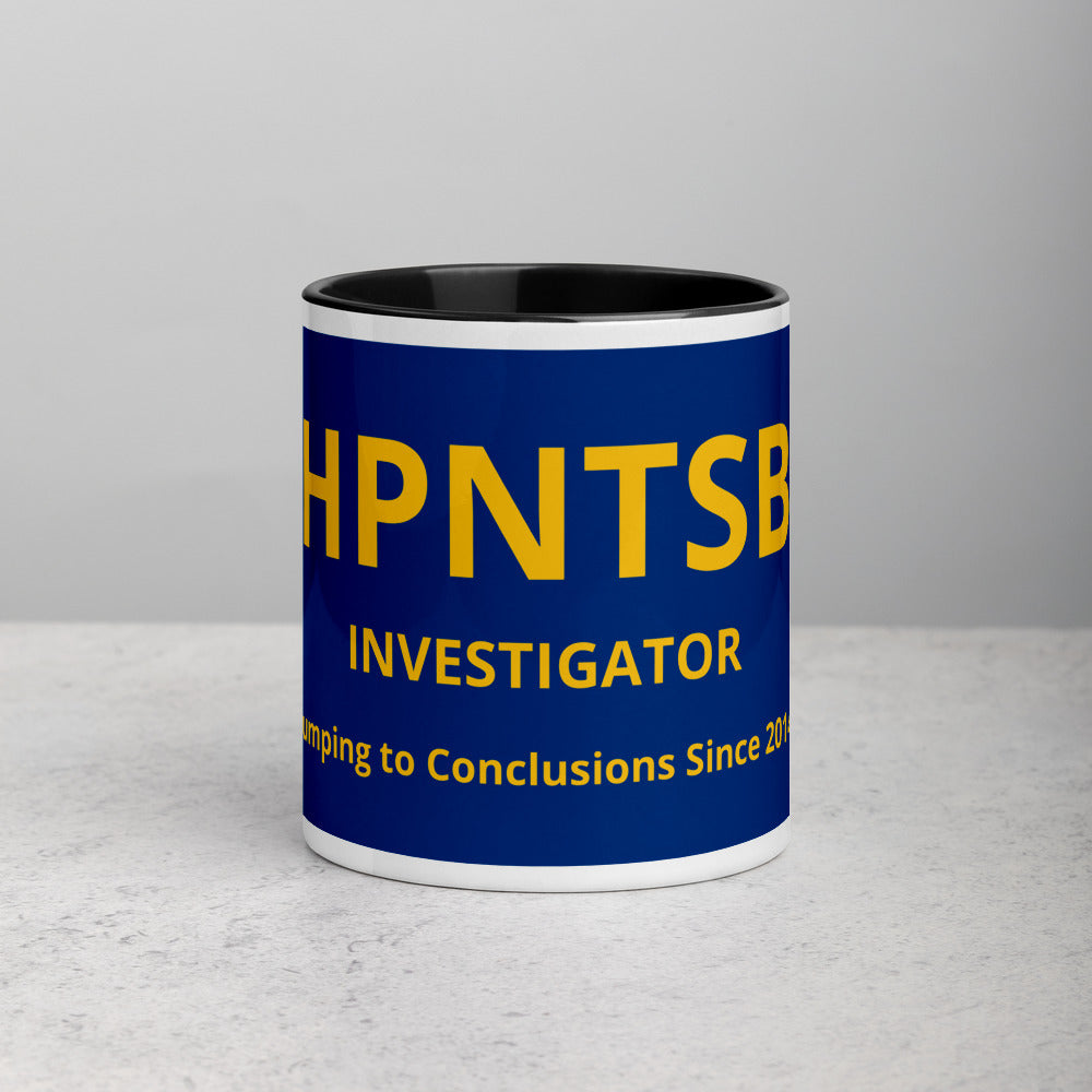 HPNTSB Investigator Mug with Color Inside
