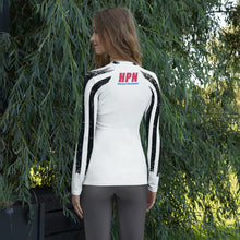 Load image into Gallery viewer, HPN Crazy Flag APACHE Women's Rash Guard