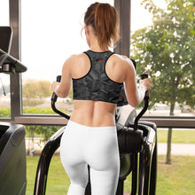 Load image into Gallery viewer, HPN Logo Blacktacular Padded Sports Bra