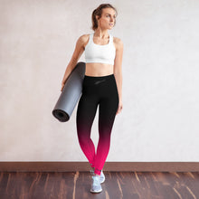 Load image into Gallery viewer, HPN Fade to PINK AStar Yoga Leggings