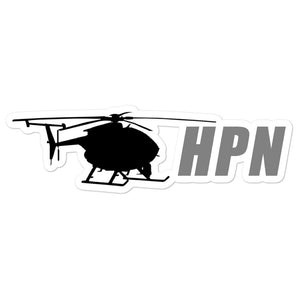 HPN Grey Logo Sticker