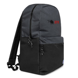 HPN Logo Embroidered Champion Backpack