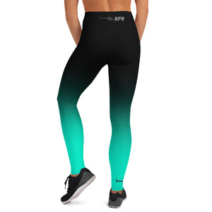 HPN Fade to Sea Foam - AStar Yoga Leggings