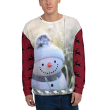 Load image into Gallery viewer, HPN Christmas Snowman Sweatshirt
