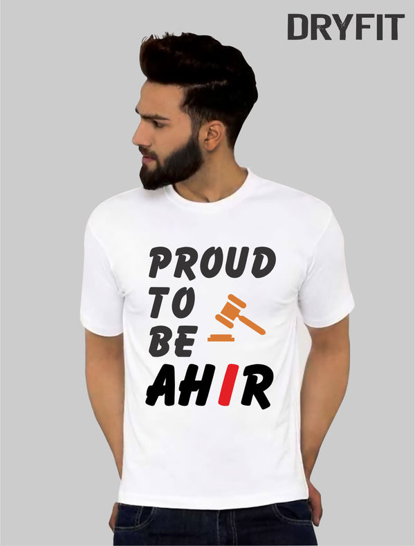 Proud to be ahir Dryfit Half Sleeve T-Shirt
