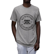 Load image into Gallery viewer, Rickhouse Ramblings Black Logo Tri-Blend T-Shirt