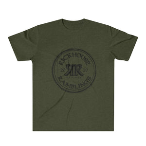Rickhouse Ramblings Black Logo Tri-Blend T-Shirt