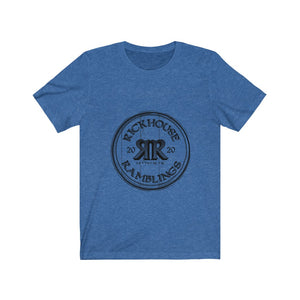 Rickhouse Ramblings Black Logo Unisex Jersey Short Sleeve Tee
