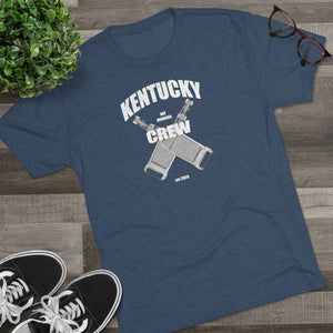 Kentucky Day Drinking Crew - Tri-Blend T-Shirt