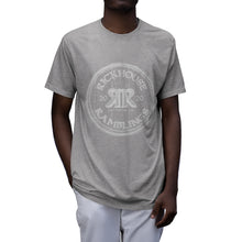 Load image into Gallery viewer, Rickhouse Ramblings White Logo Tri-Blend T-Shirt