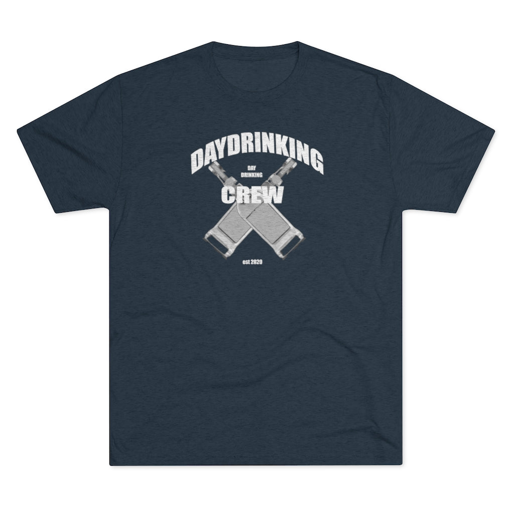 Day Drinking Crew - Tri-Blend T-Shirt
