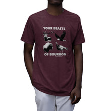 Load image into Gallery viewer, Beasts Of Bourbon Tri-Blend T-Shirt