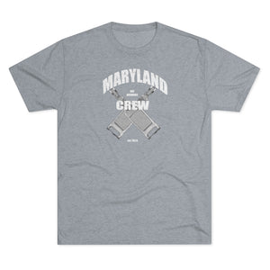 Maryland Day Drinking Crew - Tri-Blend T-Shirt