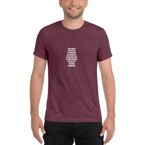 Barbados Rum Short Sleeve Tri-Blend T-Shirt