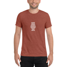 Load image into Gallery viewer, Barbados Rum Short Sleeve Tri-Blend T-Shirt