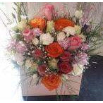 Mothers Day Flowers Delivery - Roses in Box - 12 Roses - Mandies Creations Florist