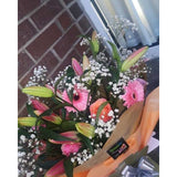 Flower Subscription Northern Ireland - 2 bouquet per month for 12 Months Pre-Paid