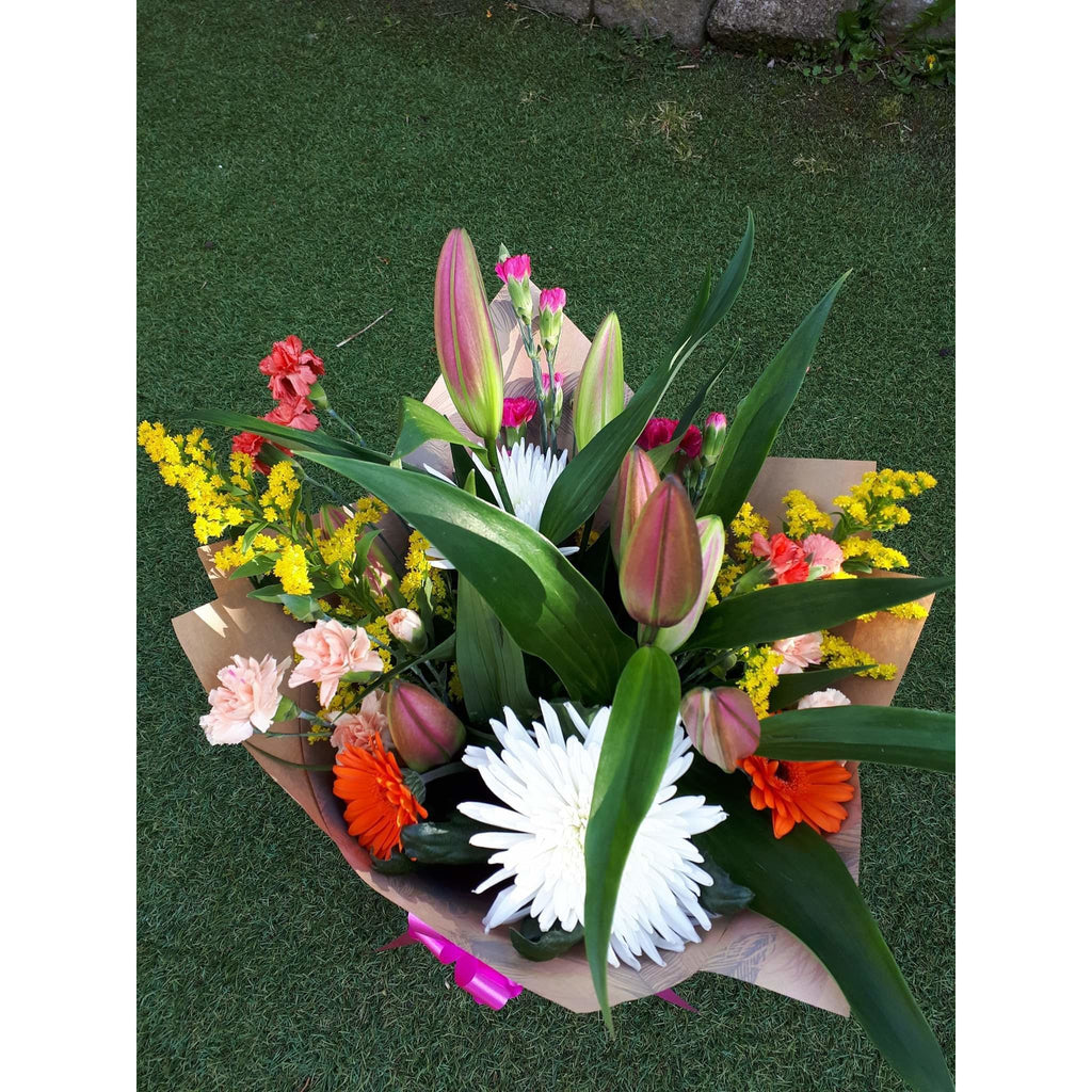 Flower Delivery - Lily, Carnation and Chrysanthemum - Mandies Creations Florist