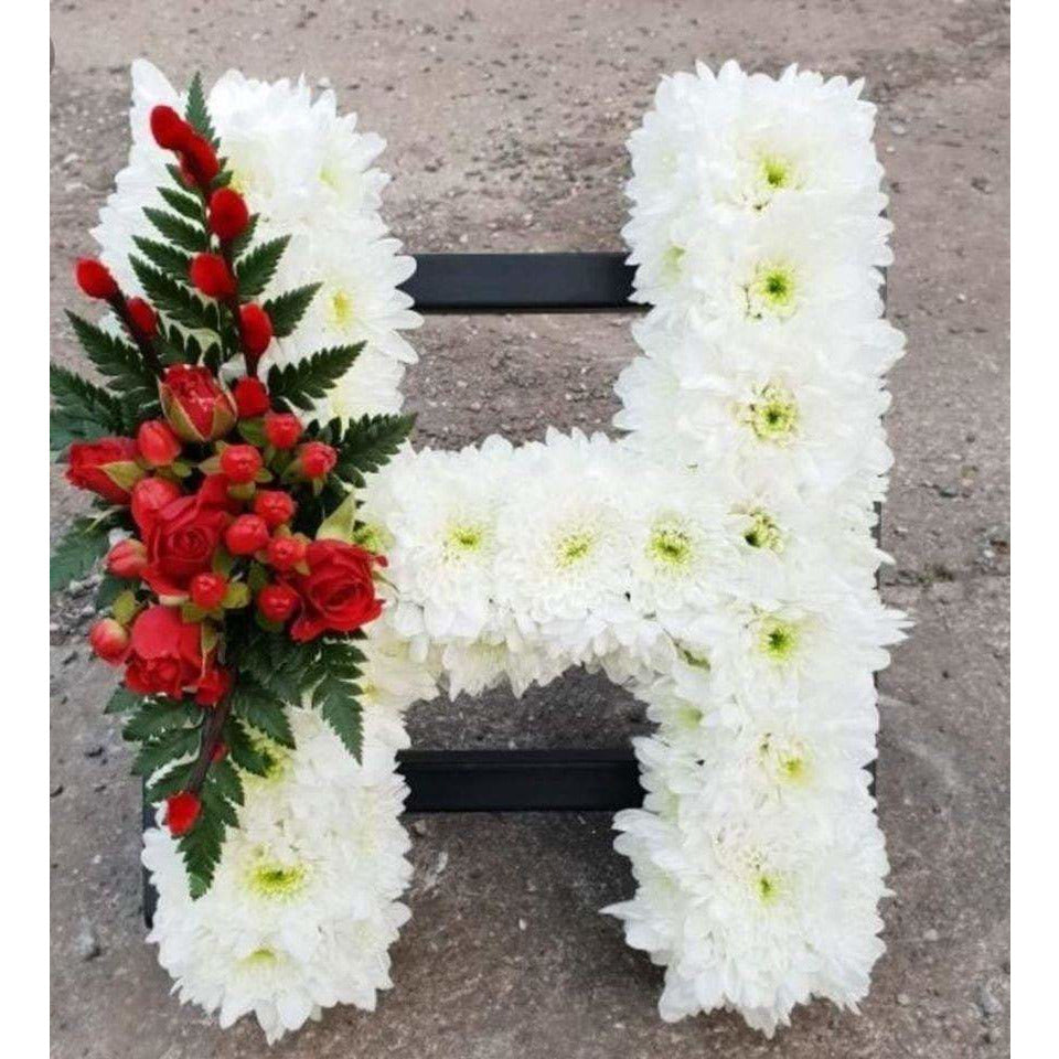 Funeral Flowers Belfast - Flower Letters - Mandies Creations Florist